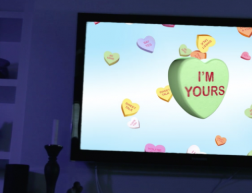 Digital signage animations deliver Valentine's Day hearts, holiday cheer