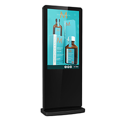 inVoke Digital Signage Android free-standing digital screens