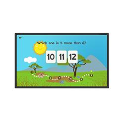 inVoke Digital Signage - infared interactive education screen