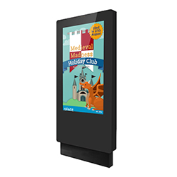 inVoke Digital Signage outdoor digital screen